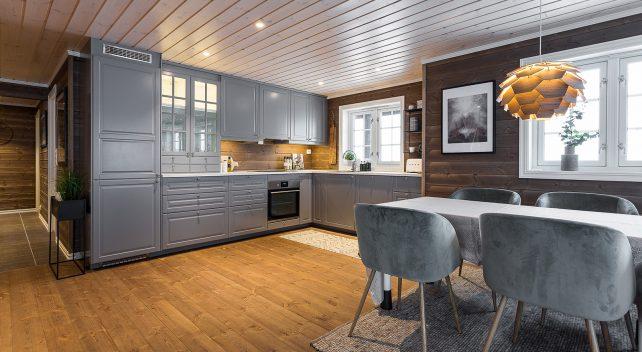 Familiehytta Hafjell interiør